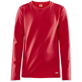 Craft Essential Round-Neck LS Shirt Kinder beam